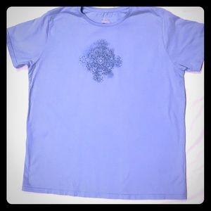 Columbia women's light blue tee